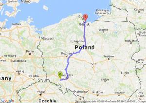Trasa Strzegom - Przejazdowo