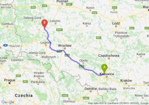 Trasa Bytom - Głogów