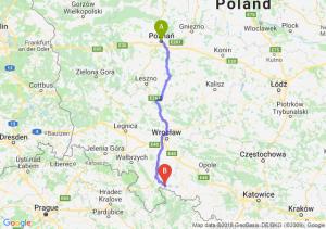 Trasa Poznań - Paczków