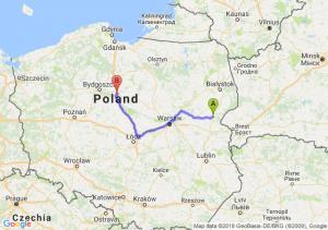 Trasa Siemiatycze - Lubicz Dolny