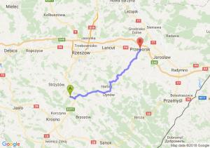 Trasa Lutcza - Przeworsk