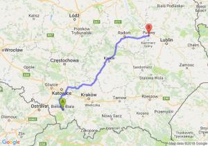 Trasa Bielsko-Biała - Puławy