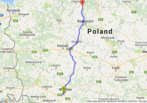 Trasa Bielany Wrocławskie - Tuchola