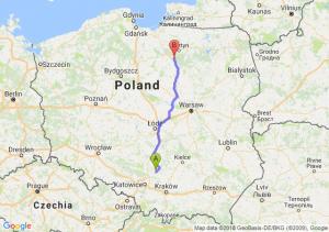 Trasa Bobolice - Olsztynek