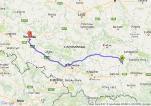 Trasa Borowa - Wrocław