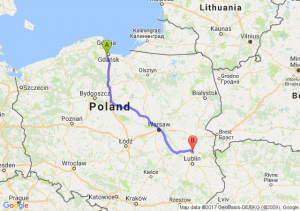 Trasa Straszyn - Ostrówek