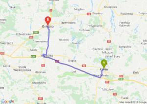 Trasa Konin - Gniezno