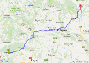 Międzychód (wielkopolskie) - Nowe (kujawsko-pomorskie)