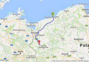 Trasa Sarbinowo - Myślibórz