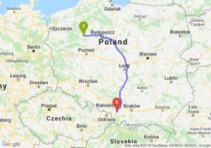 Trasa Piła - Pszczyna