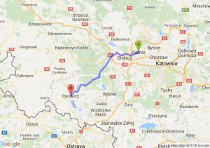 Trasa Zabrze - Racibórz