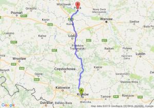 Trasa Bronowice - Płock