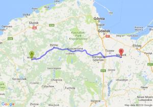 Miastko (pomorskie) - Malbork (pomorskie)