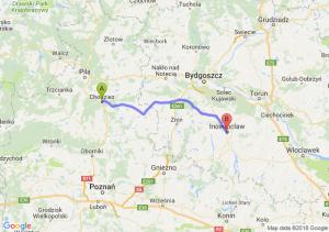 Chodzież - Inowrocław