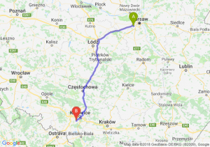 Trasa Pruszków - Mikołów