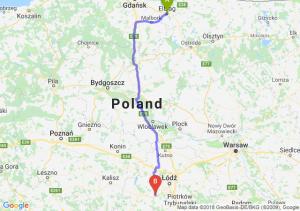 Elbląg - Łask