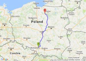 Trasa Bytom - Ostróda