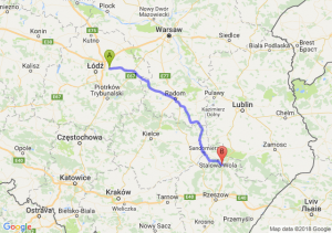 Trasa Brzeziny - Nisko