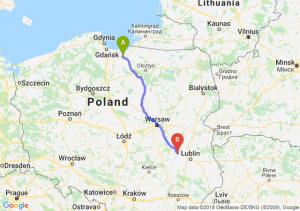 Trasa Elbląg - Puławy