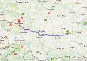 Trasa Tarnów - Katowice