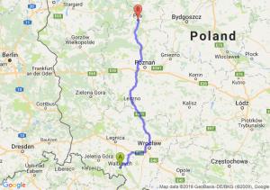 Trasa Wałbrzych - Piła