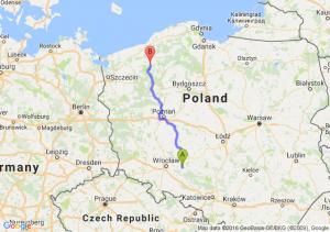 Namysłów (opolskie) - Barwice (zachodniopomorskie)