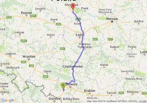 Trasa Czerwionka-Leszczyny - Kowal