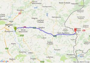 Otwock (mazowieckie) - Terespol (lubelskie)