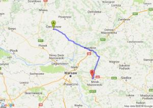 Trasa Ciechanów - Choszczówka Stojecka