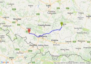 Trasa Chęciny - Krapkowice