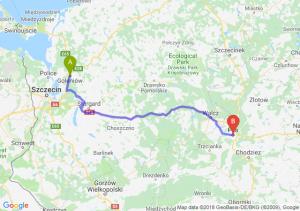 Trasa Goleniów - Piła