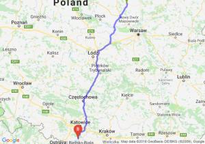 Trasa Ciechanów - Pszczyna