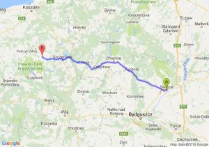 Świecie (kujawsko-pomorskie) - Barwice (zachodniopomorskie)