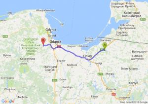 Trasa Chruściel - Żukowo