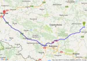 Małogoszcz (świętokrzyskie) - Wrocław (dolnośląskie)