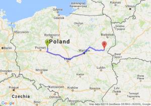 Trasa Gniezno - Siemiatycze