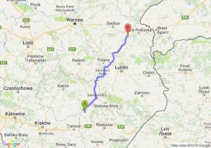 Trasa Borowa - Międzyrzec Podlaski