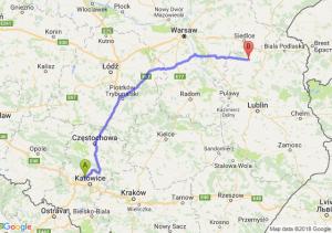Trasa Bytom - Łuków