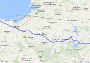 Ełk (warmińsko-mazurskie) - Gdańsk (pomorskie)