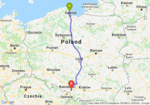 Trasa Gdynia - Żory
