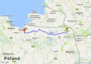 Trasa Suwałki - Pasłęk