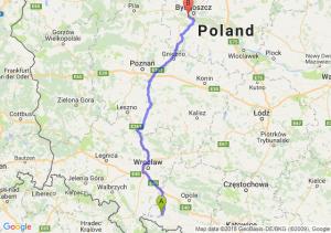 Trasa Nysa - Białe Błota