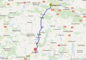 Trasa Białe Błota - Gniezno