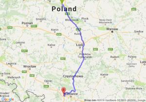 Trasa Toruń - Gliwice