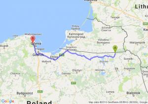 Gołdap (warmińsko-mazurskie) - Rumia (pomorskie)