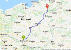 Trasa Kędzierzyn-Koźle - Suwałki