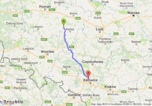 Pleszew (wielkopolskie) - Piekary Śląskie (śląskie)