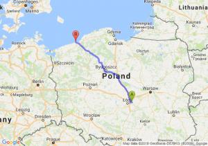 Trasa Brzeziny - Sarbinowo