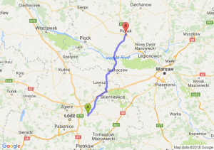 Trasa Brzeziny - Płońsk