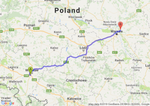 Trasa Bielany Wrocławskie - Kobyłka
